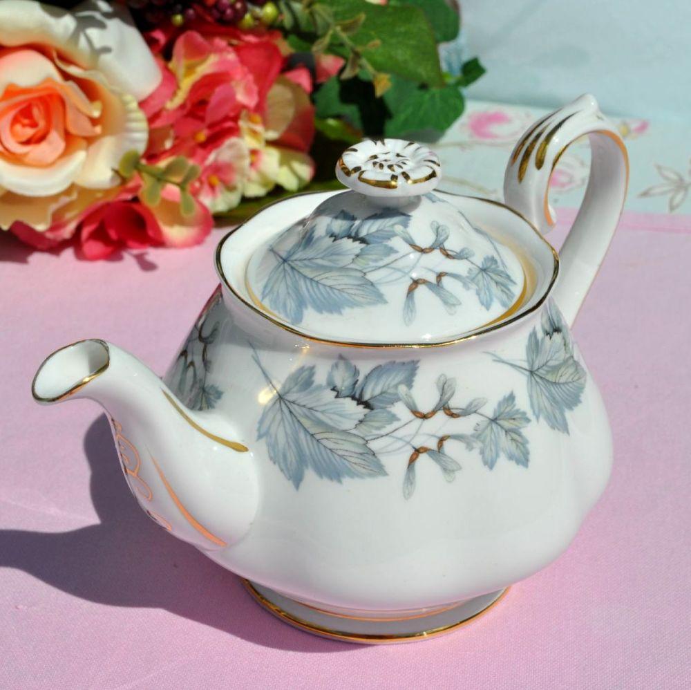 Royal Albert Silver Maple Vintage China One Pint Teapot