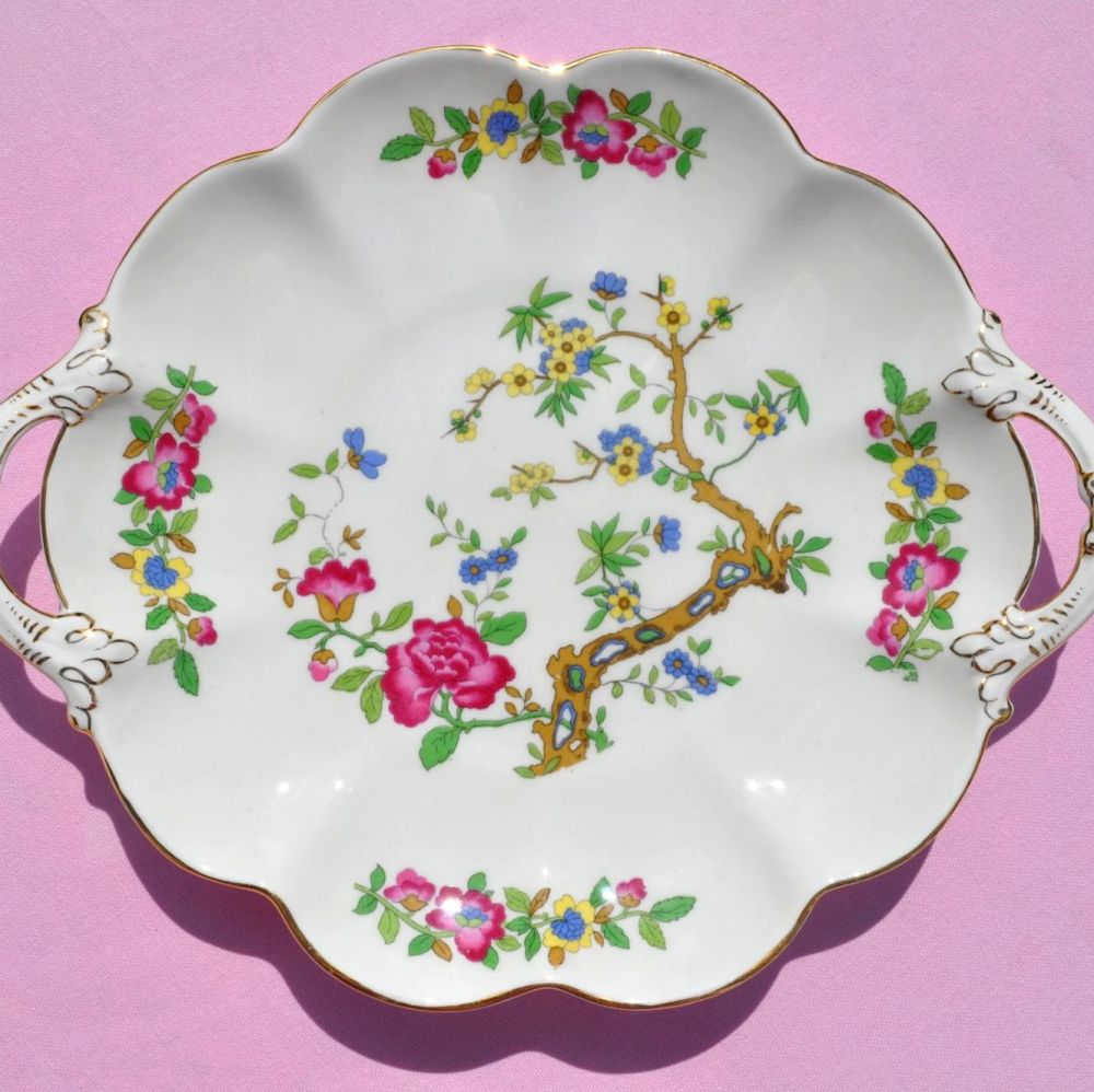 Crescent China Biscuit Tray 1940s