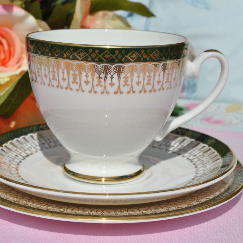 Royal Grafton Majestic vintage teacup trio