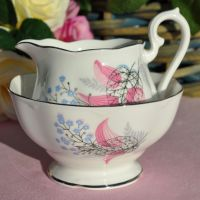 Royal Albert Fancy Free Milk Jug and Sugar Bowl