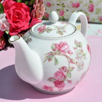 Aynsley Elizabeth Rose 2 Pint Teapot
