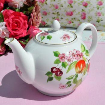 Aynsley Eden Pattern 2 Pint Teapot