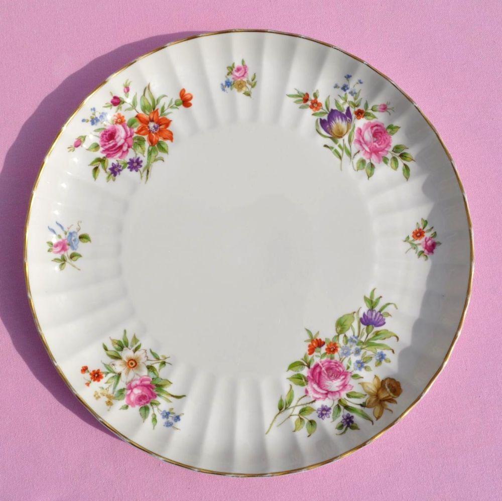 Royal Worcester Roanoke Vintage China Round Cake Plate