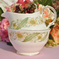 Duchess Greensleeves Milk Jug and Sugar Bowl