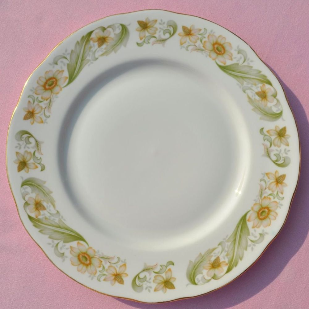 Duchess Greensleeves Vintage Bone China 24cm Plate c.1950s