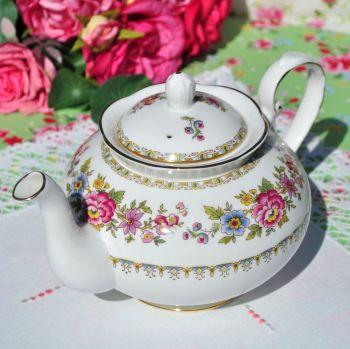 Royal Grafton Malvern Vintage China Floral 2 Pint Teapot c.1950's