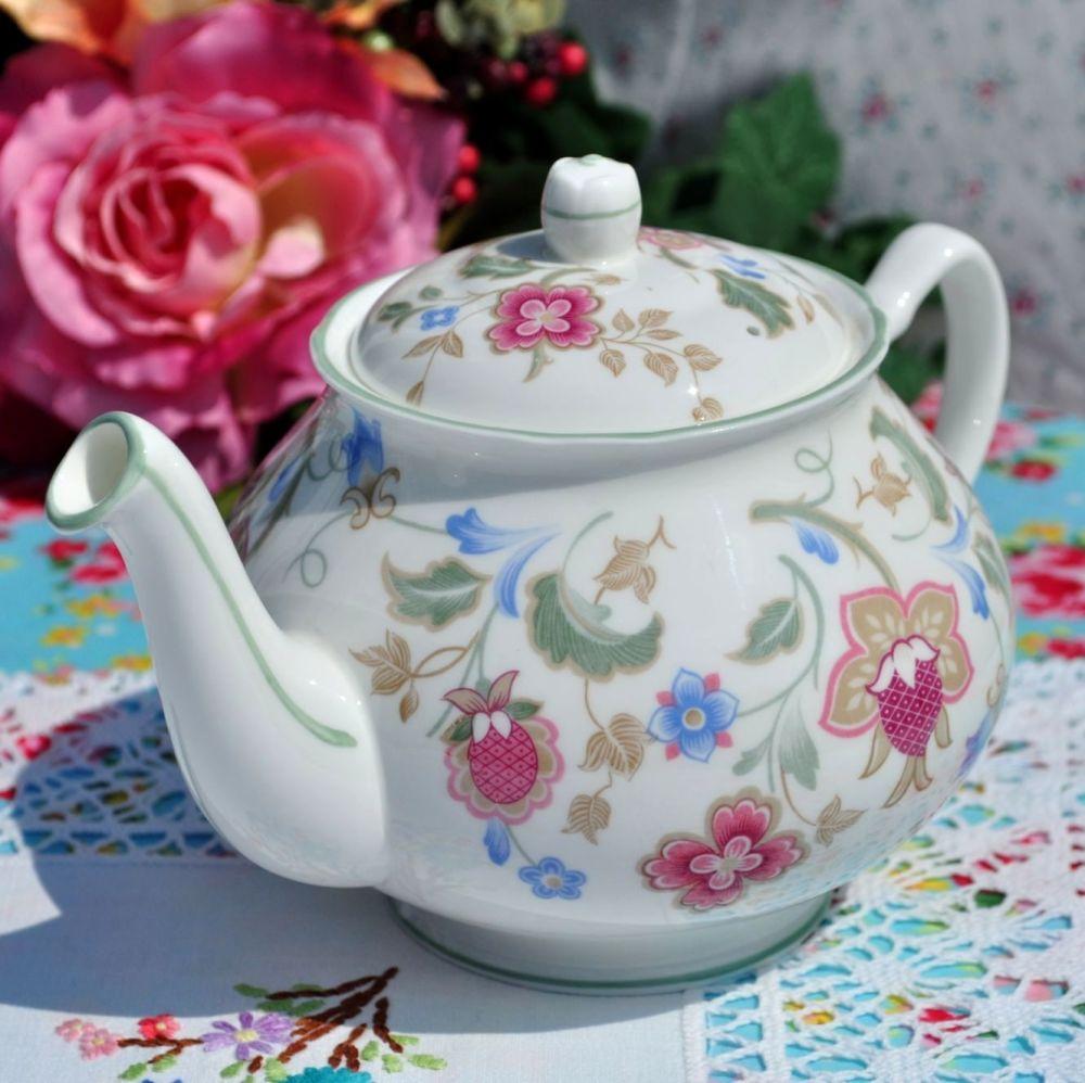 Duchess Jacobean Bone China Vintage Teapot