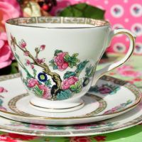 Duchess Indian Tree Teacup Trio c.1960s