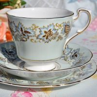 Paragon Jacobean Vintage Teacup Trio c.1957+