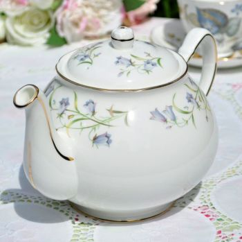 Duchess Harebell 2 Pint China Teapot c.1970s