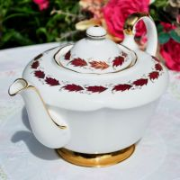 Paragon Elegance Large China Teapot c.1957+