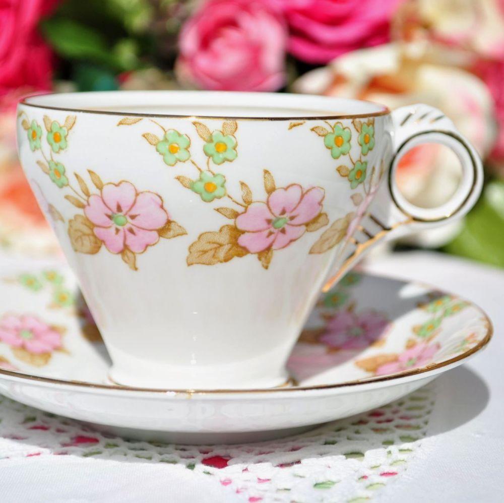 Melba Deco Style Teacup and Saucer