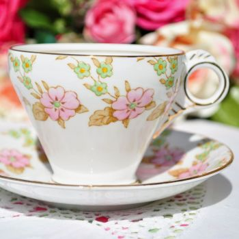 Melba Deco Style Teacup and Saucer