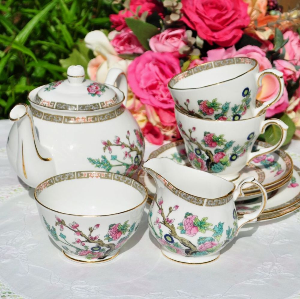Duchess Indian Tree Tea Set for Two