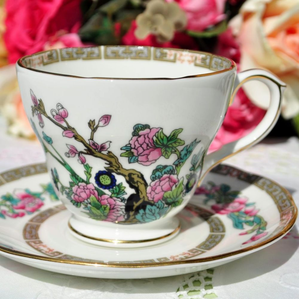 Duchess Indian Tree Teacup and Saucer