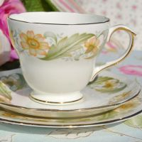 Duchess Greensleeves Teacup Trio c.1950s