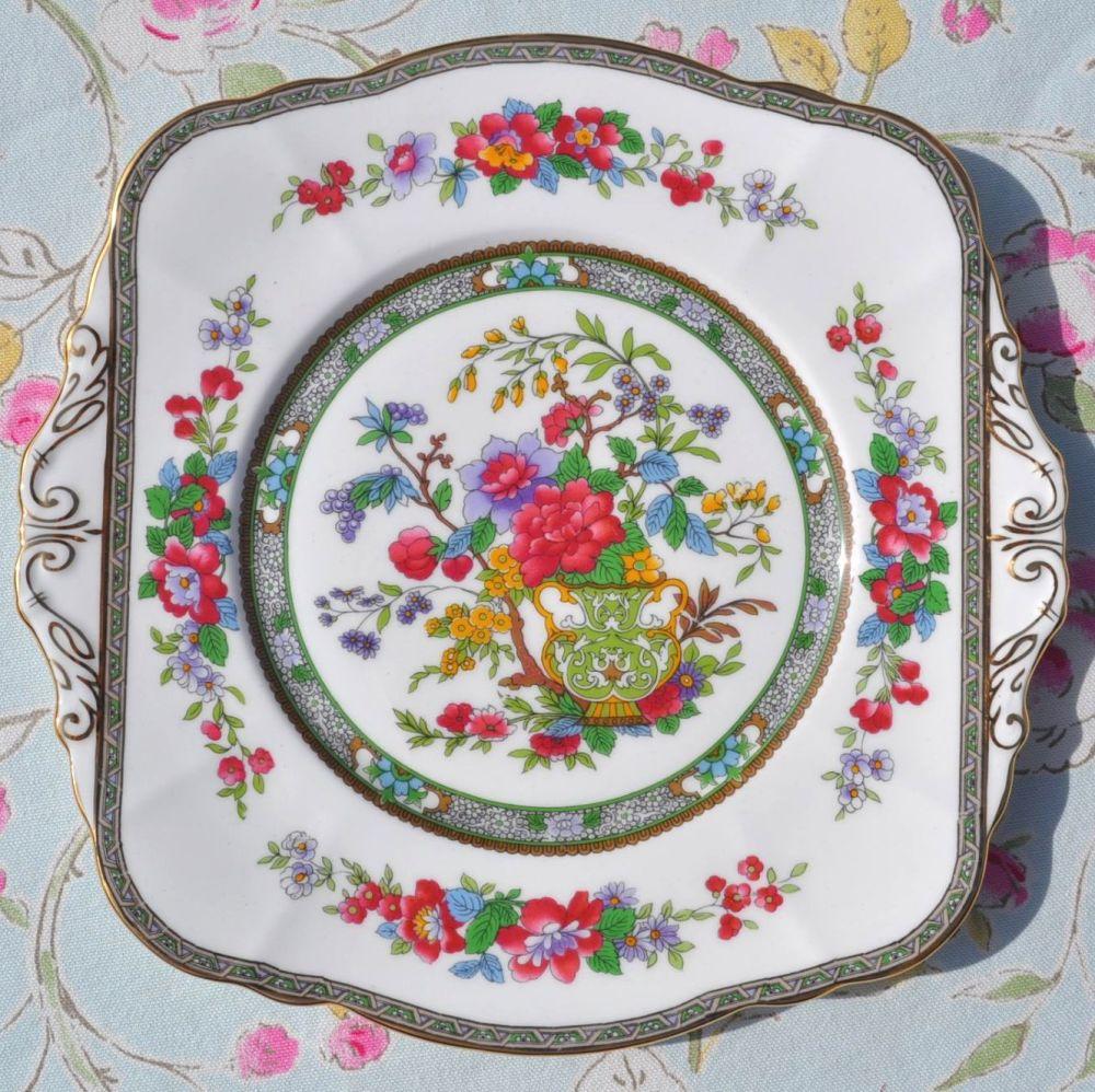Paragon 'Tree of Kashmir' Vintage Fine Bone China Cake Plate
