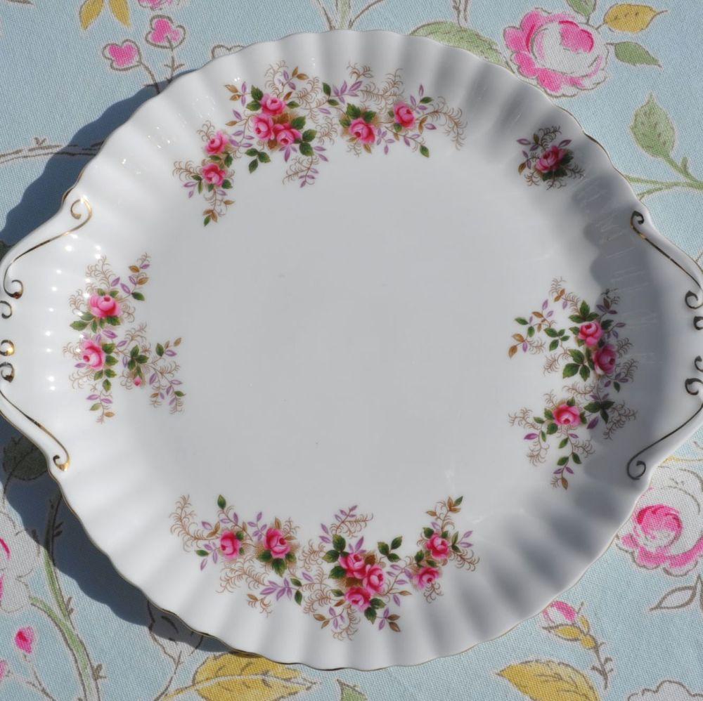 Royal Albert Lavender Rose Bone China Cake Plate
