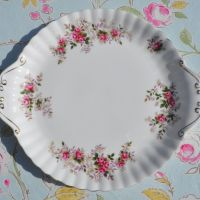 Royal Albert Lavender Rose Cake Plate c.1960s