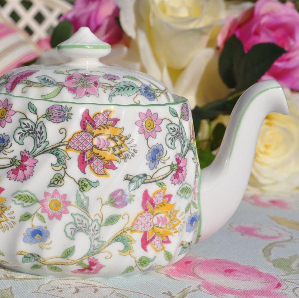Minton Haddon Hall B.1451 Bone China Two Cup Teapot