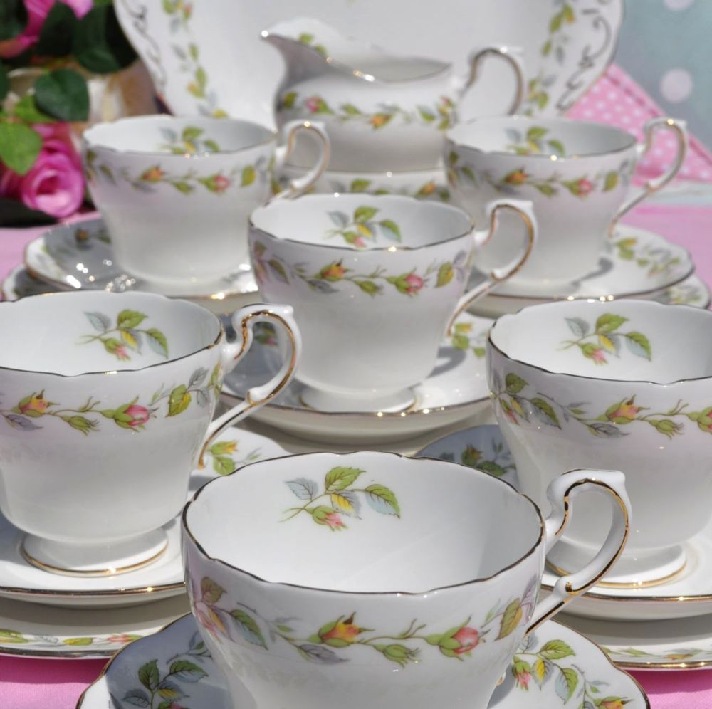 Royal Standard Nose Gay Rose Buds Tea Set