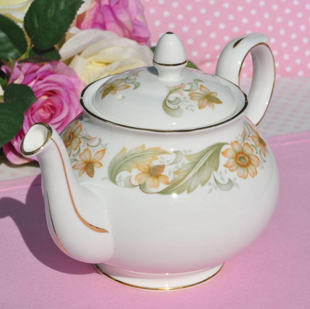 Duchess Greensleeves Vintage Bone China 2 Pint Teapot c.1950s