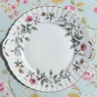 Royal Stafford Bramble Rose Cake Plate c.1950s
