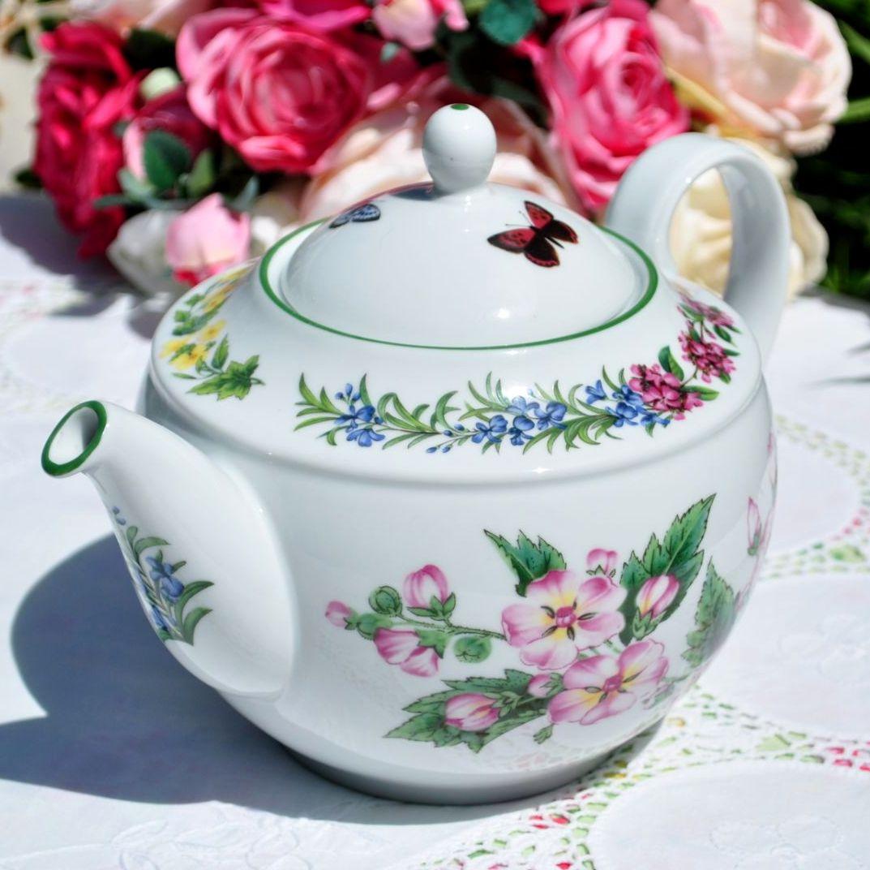 Royal Worcester Herbs Teapot