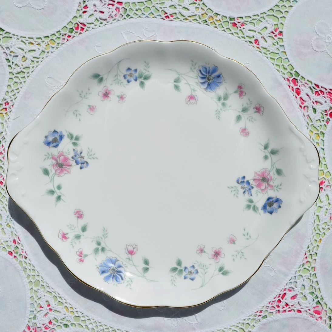 Colclough Hartley Cake Plate