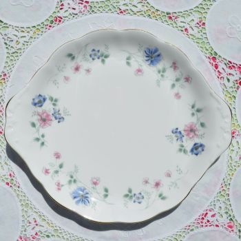 Colclough/Royal Albert Hartley Cake Plate c.1991