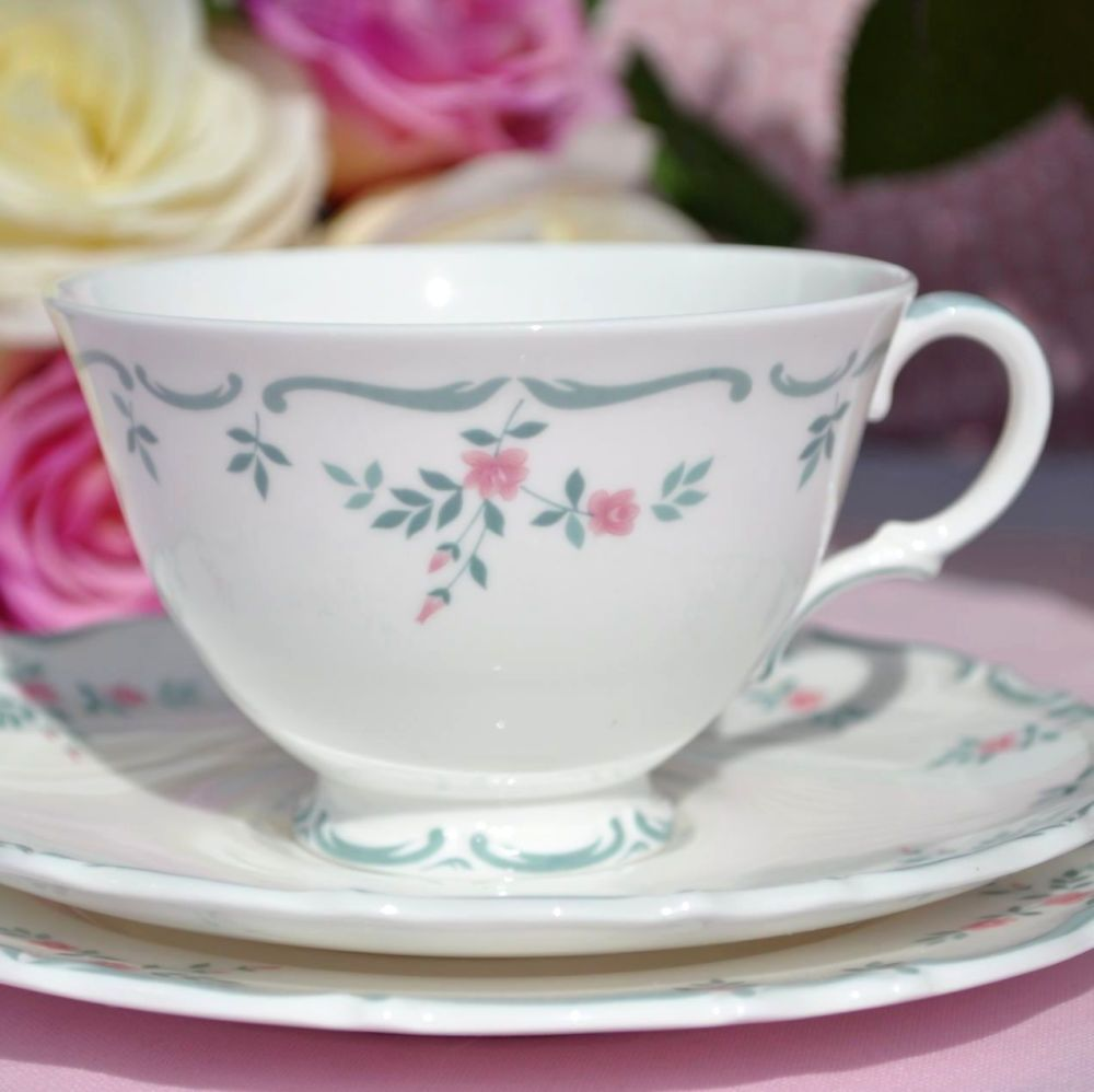 Royal Doulton Chatelaine Vintage Teacup Trio
