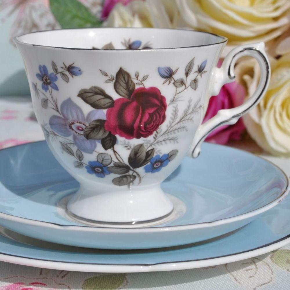 Royal Grafton Favourite Fine Bone China 1950s Vintage Tea Trio