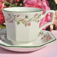 Johnson Bros. Eternal Beau Teacup and Saucer c.1970s