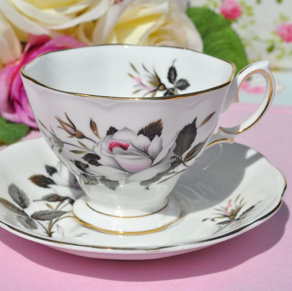 Royal Albert Queen's Messenger Vintage China Teacup and Saucer