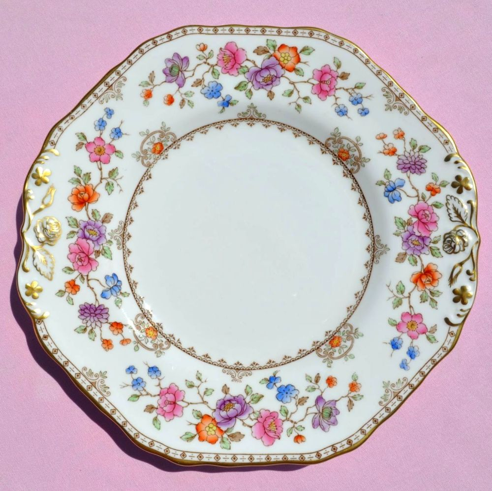 Spode Lauriston Hand Painted Cake Plate c.1962