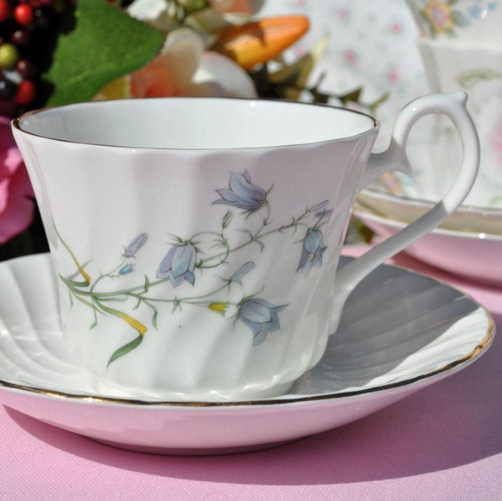 Royal Burlington Harebells Teacup and Saucer