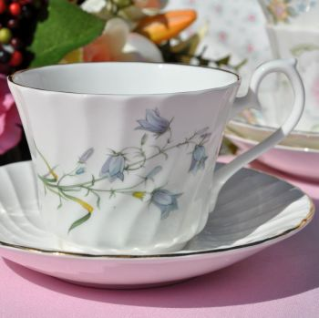 Royal Burlington Harebells Teacup and Saucer c.1960s