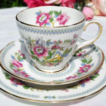 Duchess Nanking China Tea Cup Trio c.1960s