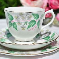 Royal Albert Travellers Joy Tea Cup Trio c.1950s