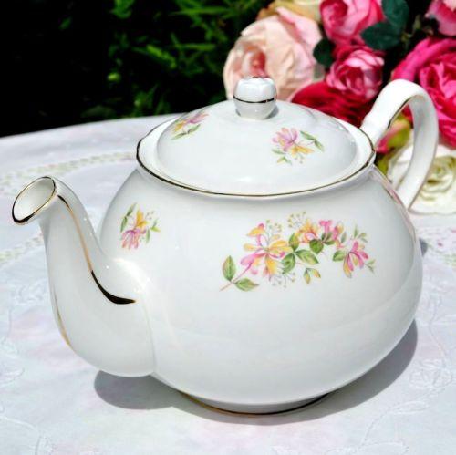 Duchess Honeysuckle Pattern Teapot