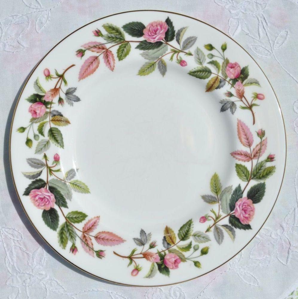 Wedgwood Hathaway Rose Bone China 20.5cm Plate
