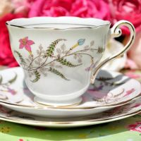 Royal Standard Fancy Free Vintage Teacup Trio c.1949