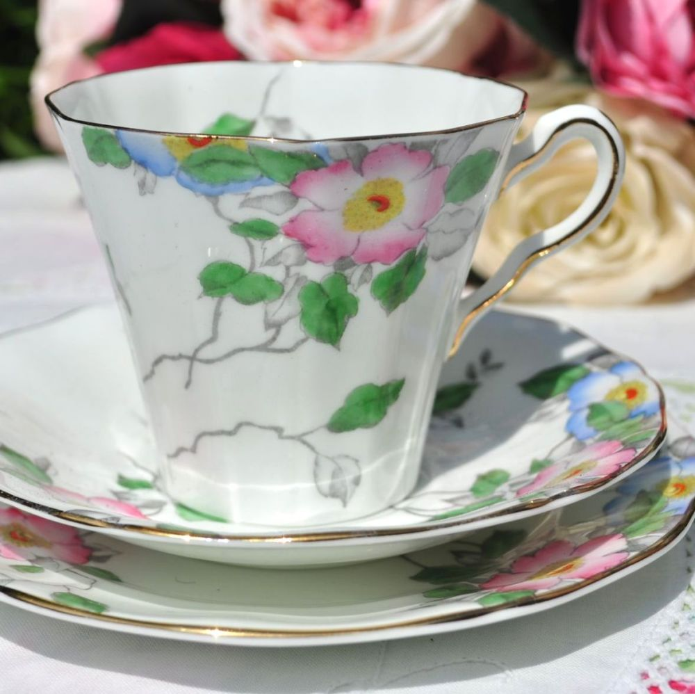 Adderley Afternoon Tea Teacup Trio