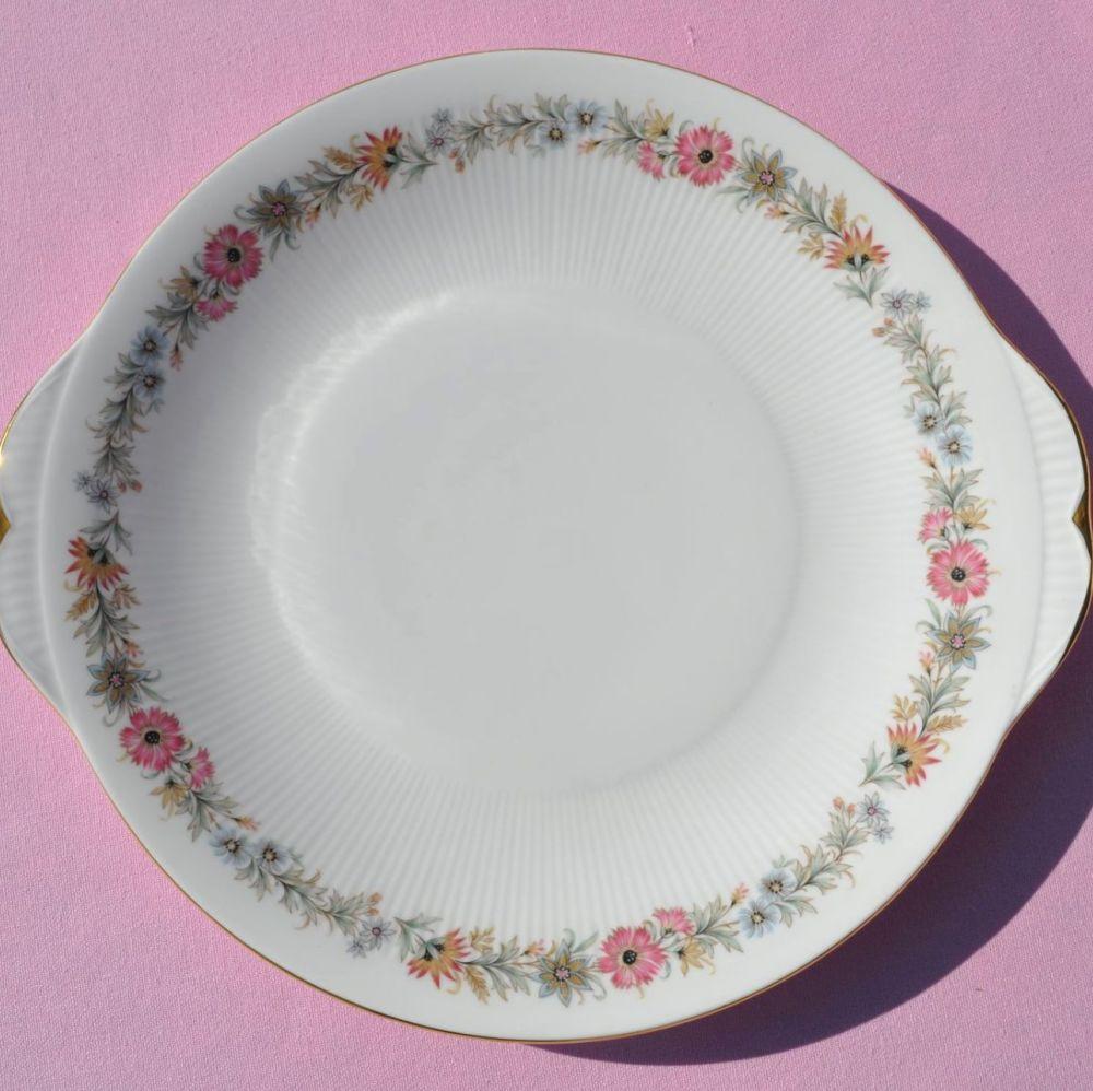 Paragon Belinda Pattern Vintage Bone China Cake Plate c.1960s