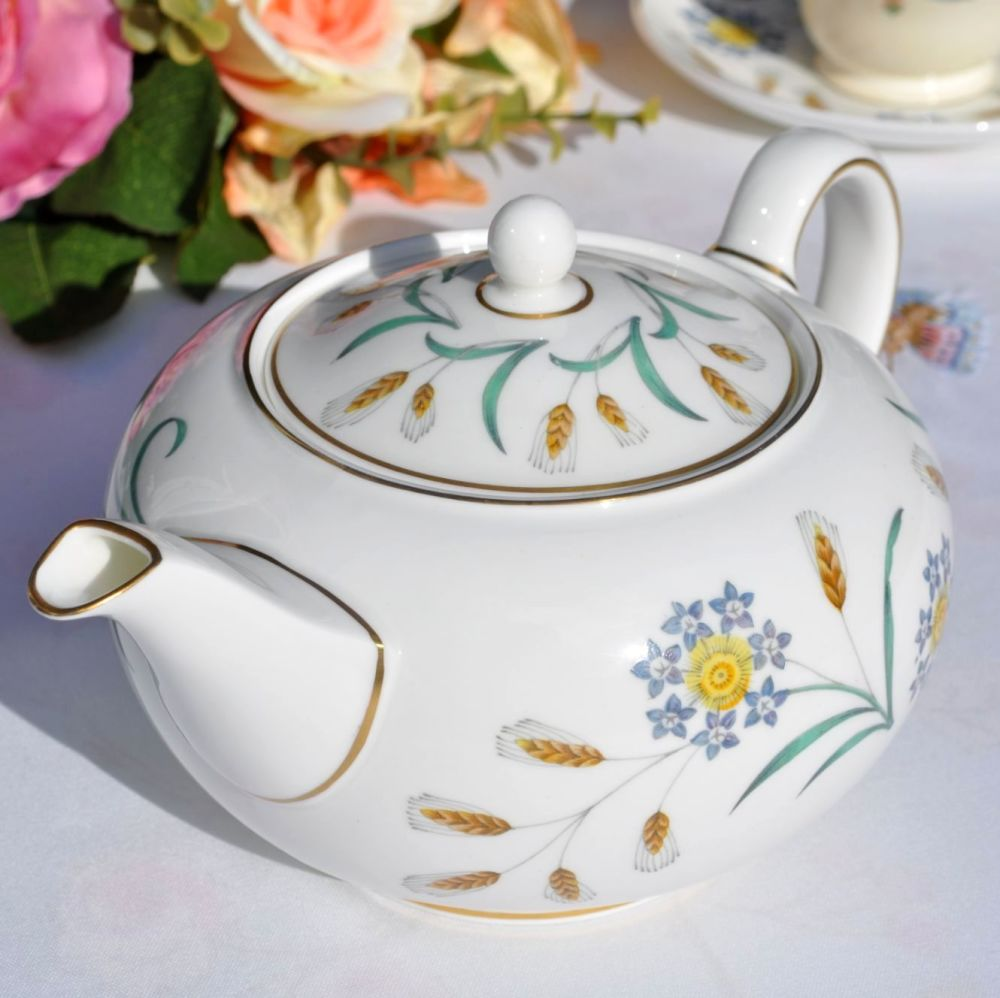 Wedgwood Wheatear W4051 Bone China Teapot c.1950's