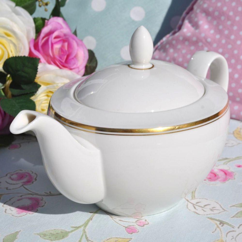 Royal Doulton Oxford Gold T.C.1225 Vintage China Teapot