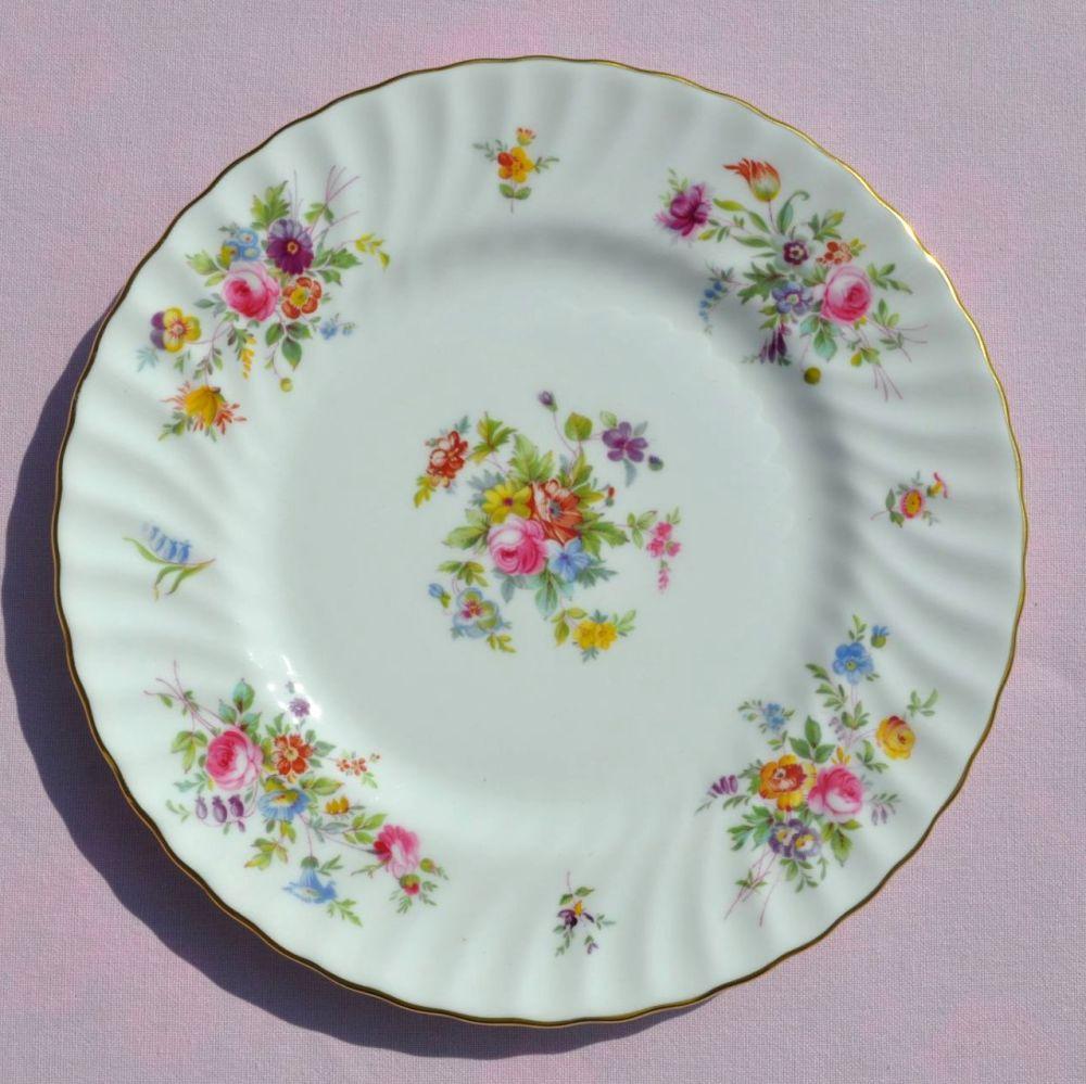 Minton Marlow Floral 23cm Bone China Plate c.1950s
