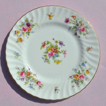 Minton Marlow Floral 23cm Bone China Plate c.1950s