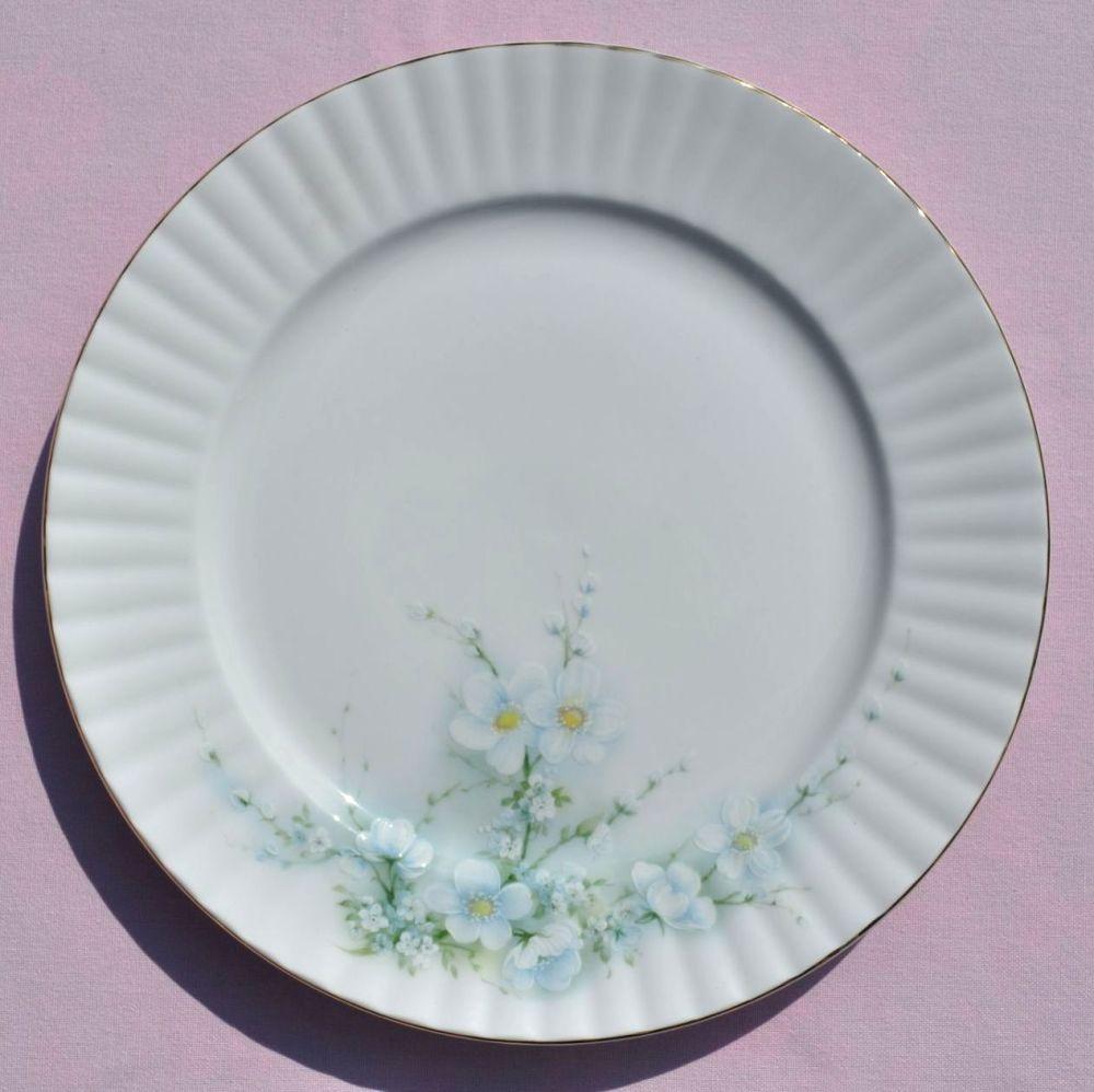Royal Stafford Bridal Sprays 26cm Vintage China Dinner Plate c.1950s