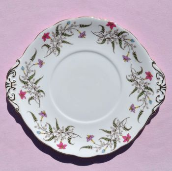 Royal Standard Fancy Free Cake Plate c.1950s